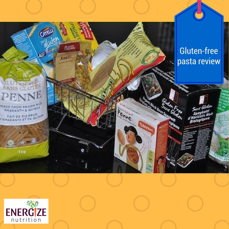 Gluten free pasta review energize nutrition our biggest complaint was that unlike durum wheat pasta the flours from which gluten free noodles are made are not fortified with essential b vitamins such negle Choice Image